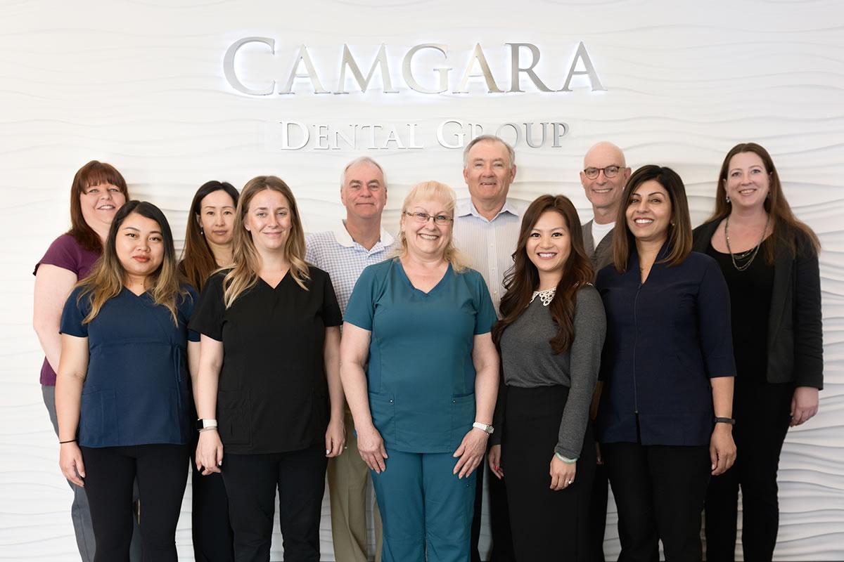 Dental team at Camgara Dental Group